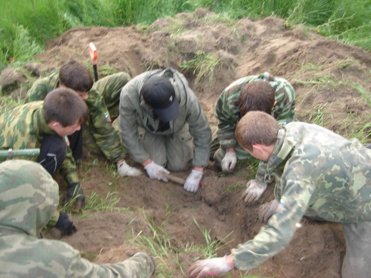Экспедиция Невский пятачок 2008 (2)