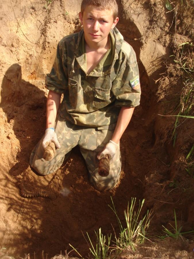 Экспедиция Невский пятачок 2008 (5)