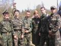 На захоронении погибших у д. Давыдово